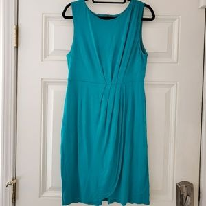 Sleeveless teal dress, Mossimo